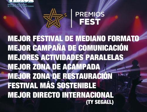 Nominados a 7 candidaturas premios Fest