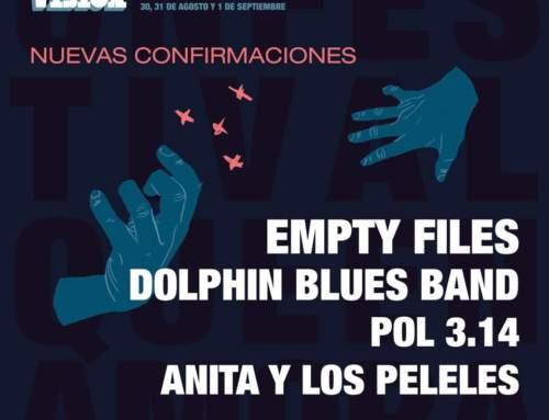 LA MÍTICA DOLPHIN BLUES BAND, EMPTY FILES, POL 3.14 Y ANITA Y LOS PELELES SE UNEN AL CARTEL DE EBROVISIÓN