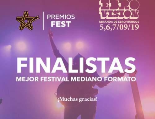 Finalistas premios Fest a mejor festival de mediano formato