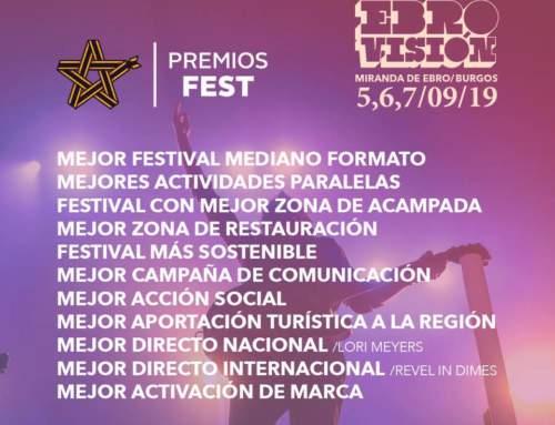 Nominados en losPremios Fest en 11 candidaturas
