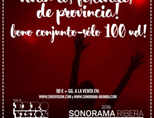 ¡VIVAN LOS FESTIVALES DE  PROVINCIA!
