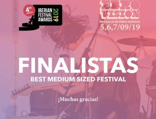 ¡¡Ebrovisión finalista en los Iberian Festival Awards!!