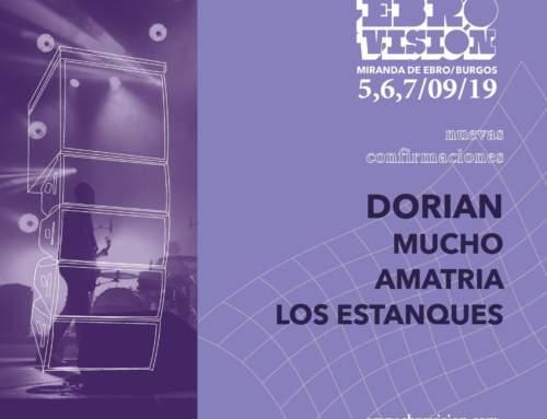 El cartel de Ebrovisión 2019 sigue creciendo