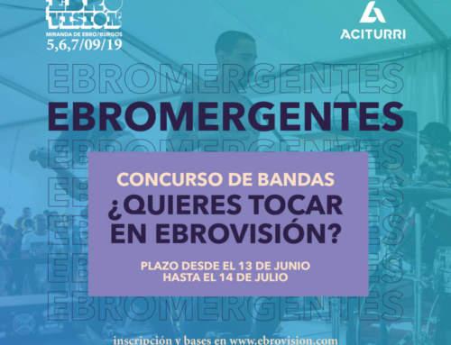 Concurso de bandas Ebroemergentes&Aciturri 2019