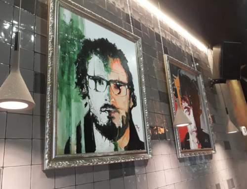 """EL ARTISTA BURGALÉS,  ISMAEL ALI DE UNZAGA EXPONDRÁ SU COLECCIÓN DE RETRATOS """"ONE EYED PORTRAITS"""""""