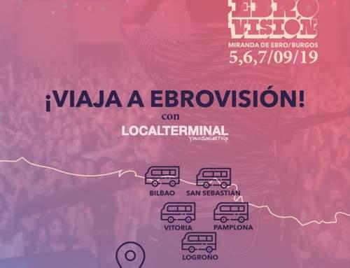 Viaje en Bus a EBROVISIÓN 2019 desde 42 localidades