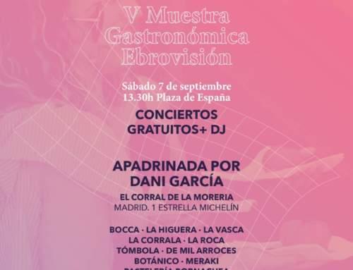 MÚSICA Y GASTRONOMÍA IRÁN DE LA MANO EN LA XIX EDICIÓN DEL FESTIVAL EBROVISIÓN