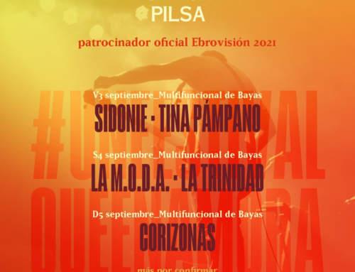 La edición especial de Ebrovisión 2021 continuará en septiembre con tres jornadas de conciertos